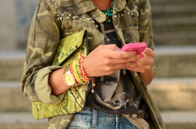 embellished cargo jacket: Fashion, Inspiration, Street Style, Jackets, Accessories, Camouflage, Camo Jacket