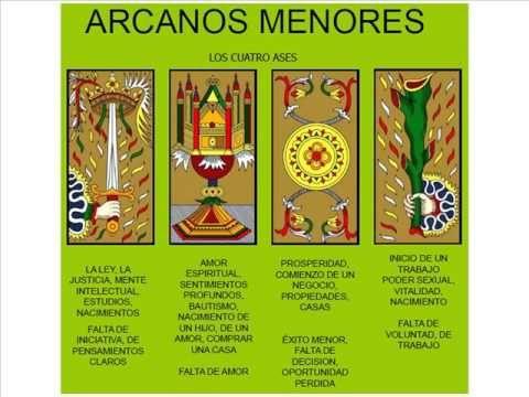 INTERPRETACION DE LOS ARCANOS MENORES DEL TAROT DE MARSELLA
