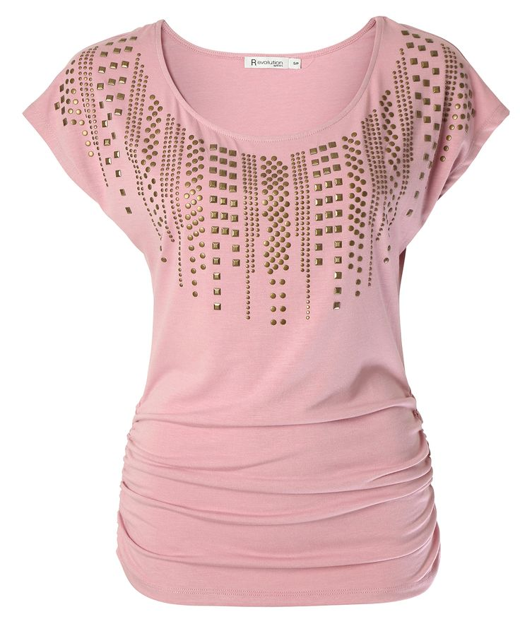 Ricki's: ruched studded tee Visit Ricki's at Windsor Crossing: http://www.windsorcrossing.com/stores/rickis #SportYourUltimateMothersDay