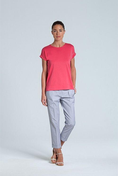 Pima Cotton T-Shirt, Outfit