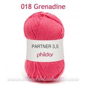 Phildar Partner 3,5 - Lana extra suave 50gr.