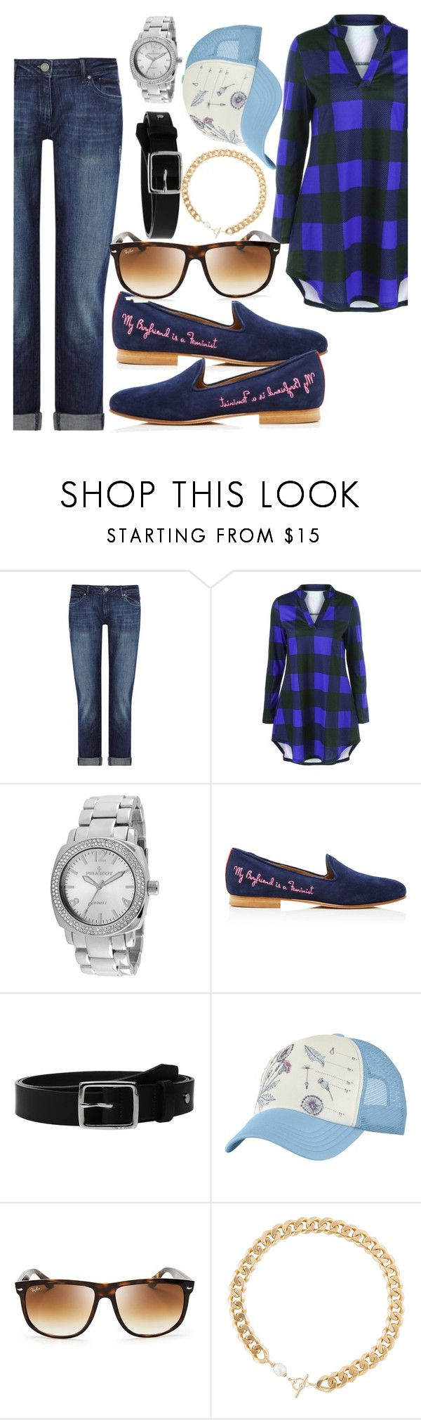 """""""Boyfriend plaza clothes"""" by oneatwphogeebaby ❤ liked on Polyvore featuring DL1961 Premium Denim, Peugeot, Del Toro, rag & bone, The North Face, Ray-Ban and Carol Workinger"""