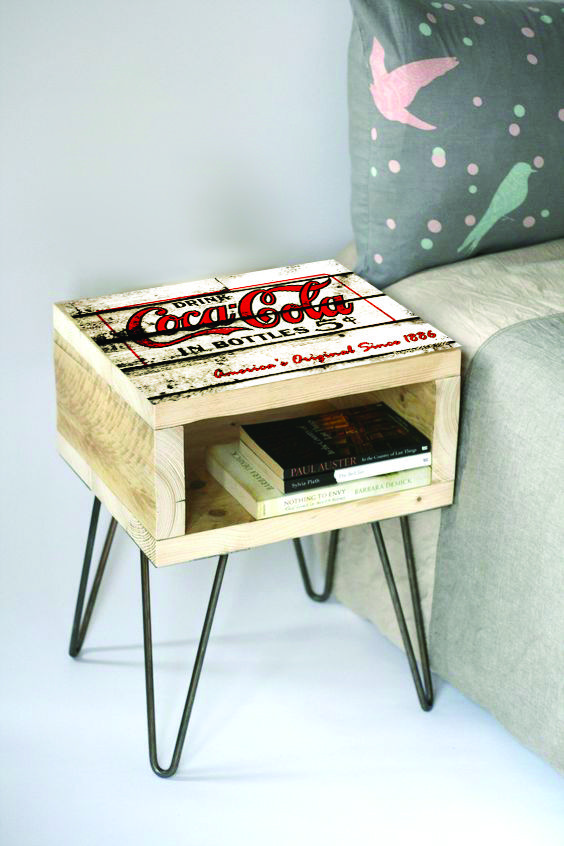 plain wood or any graphic can be applied to the pedestals - R1500
