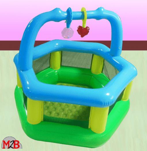 M2B158 PARC GONFLABLE securite et confort pour bebe