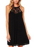 Vasna Women's Crochet Neckline Summer Trapeze Dress (Plus Size Available) from $18.99 by Amazon BESTSELLERS