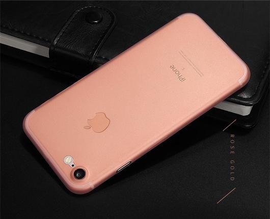Rose Gold iPhone 7 & 7 Plus Thin Case