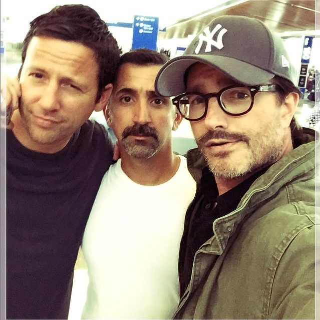 Ross McCall, James Madio and Frank John Hughes