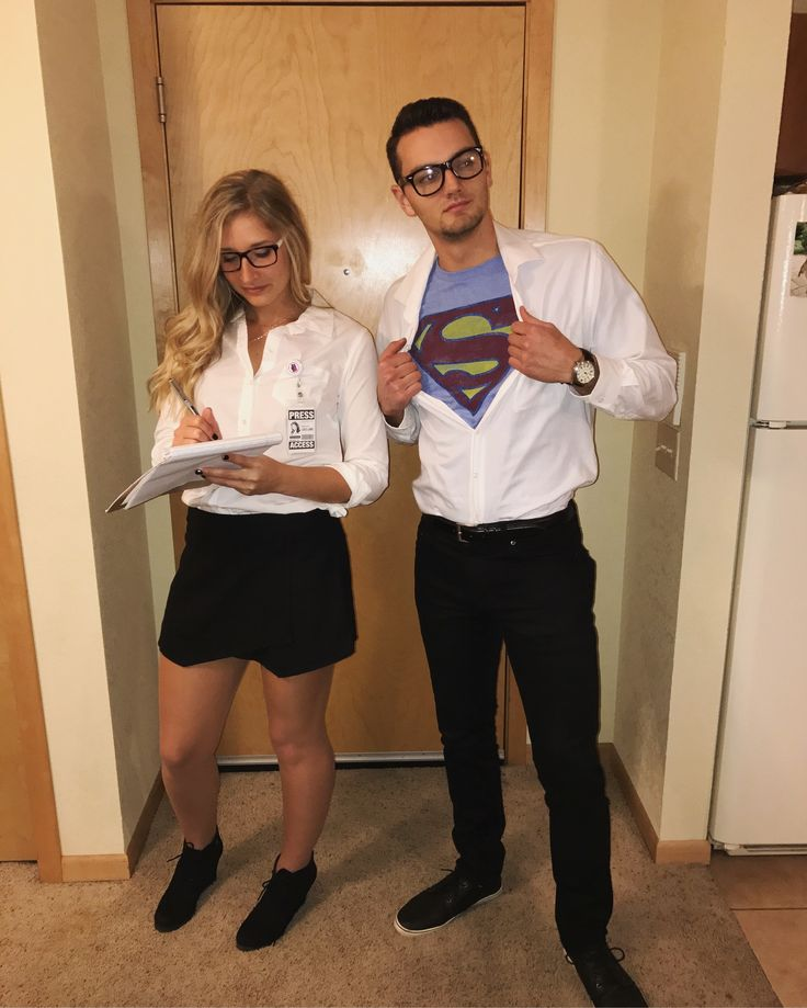 Clark Kent and Louis Lane