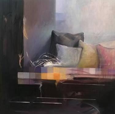 "Saatchi Art Artist Constantin Tanislav; Painting, ""Interior II"" #art"