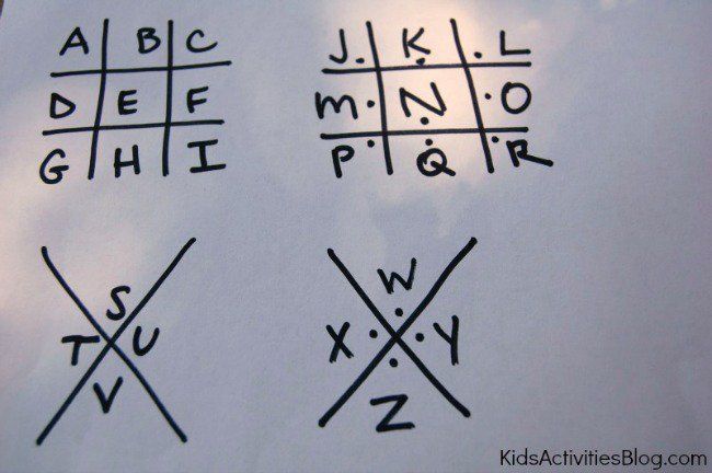 """This is perfect for the """"Let's Talk"""" badge! 5 Secret Codes for Kids to Write a Coded Letter"""