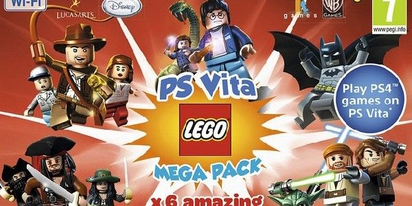 LEGO Mega Pack Bundles Announced for PS Vita, Coming This Spring