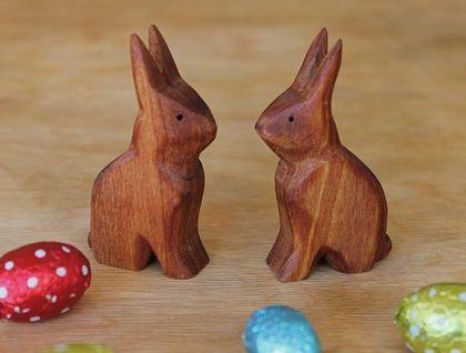 Little wooden Rabbit
