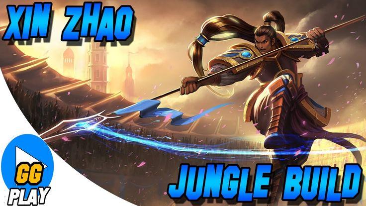 LEAGUE OF LEGENDS - XIN ZHAO JUNGLE ! FINAL ENGRAÇADO !