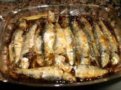 Sardinhas assadas no forno                                                                                                                                                                                 Mais