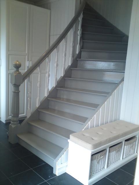 Sveitserhus og rosehage: Ei gammel trapp blir ny