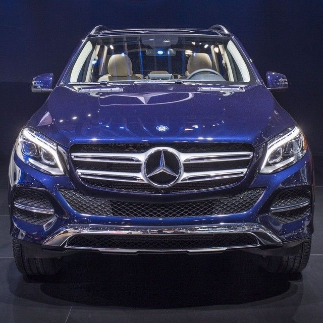 The full line of all-new GLE-Class SUVs: the GLE300d clean diesel, GLE350…