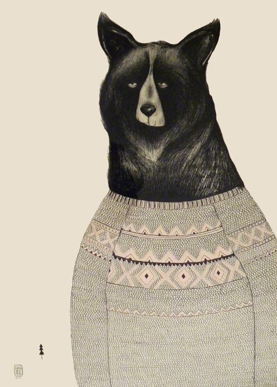 Bears by Sara Landeta, via Behance