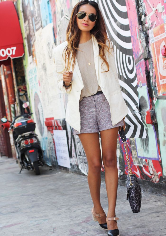 : Short, Outfits, Fashion, Blazer, Clothes, Street Style, Wardrobe, Summer, Closet