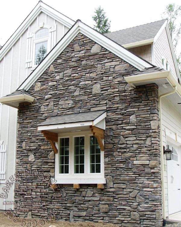 Best 25 Stone Veneer Exterior Ideas On Pinterest: 35 Best Images About Stone Veneers For Beautiful Curb