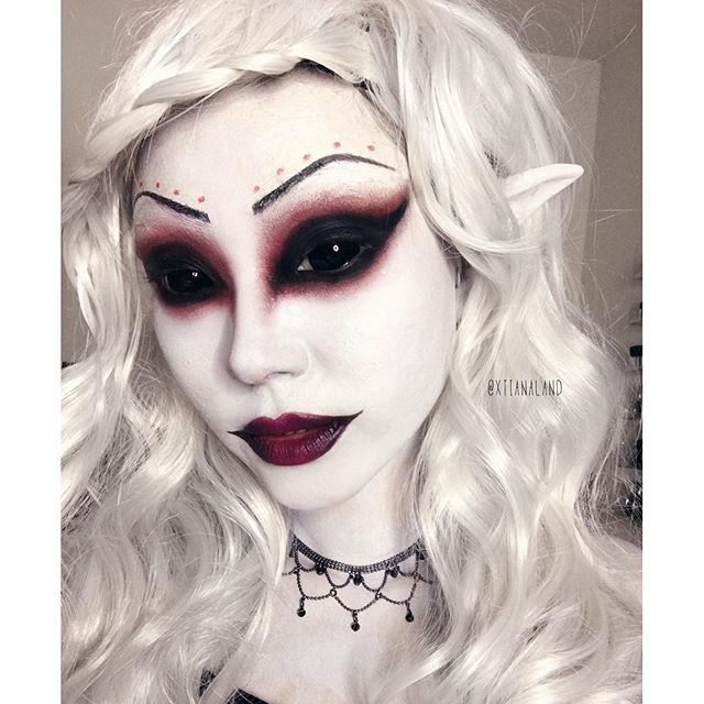 580 best makeup to crave images on pinterest makeup halloween this dark elf tutorial is on my channel youtubesuhrealmakeup scary costumeself costumecostume crazehalloween costume makeupwitch ccuart Images