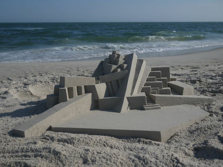 7 Modernist Sand Castles From A Master S Hand
