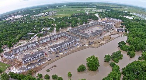 In Texas, the Race to Build in Harm's Way Outpaces Flood-Risk Studies and Warming Impacts