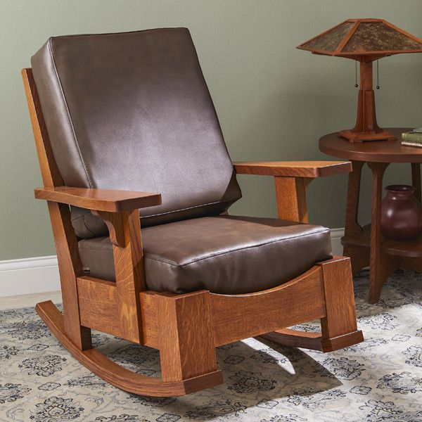 Limbert Style Rocking Chair In 2020 Rocking Chair Plans Stool