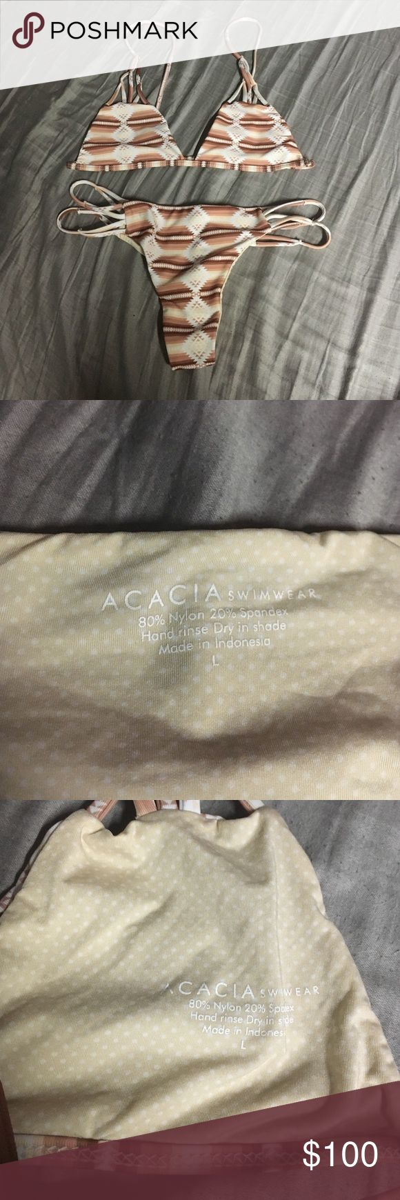 acacia set no flaws, never been worn need to get rid of male an offer acacia swimwear Swim Bikinis