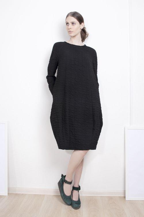 Lesel - Платье валик-ромб жатое