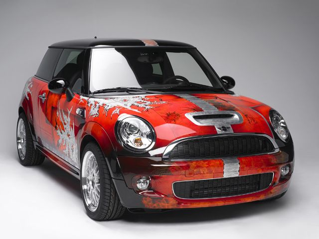 Blinged Out Mini Cooper Creations