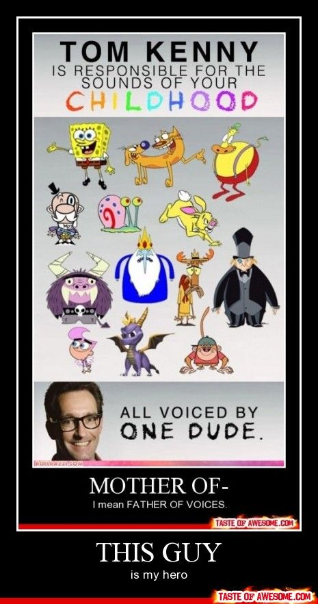 Mind. Blown.....all of them my favorite shows...except that stupid wizard from that dumbass show...