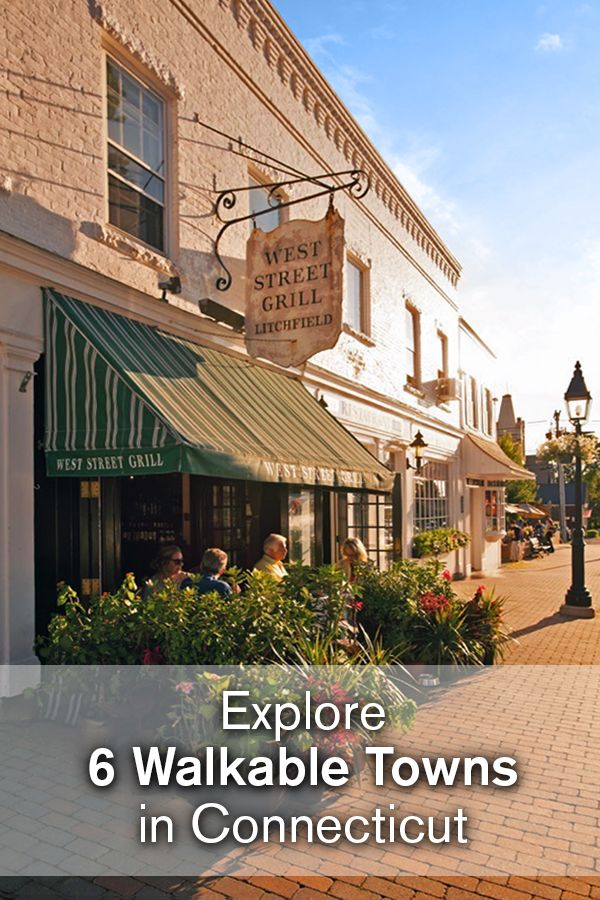 Discover Connecticut's small town charm on foot. A nice ramble can take you through town centers with shops, restaurants, galleries, museums and even a park bench or two. #FindFallFaster with a trip to one of these town centers.