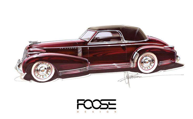 Foose Design Art - Chip Foose - Official Home of Foose Design, Inc.