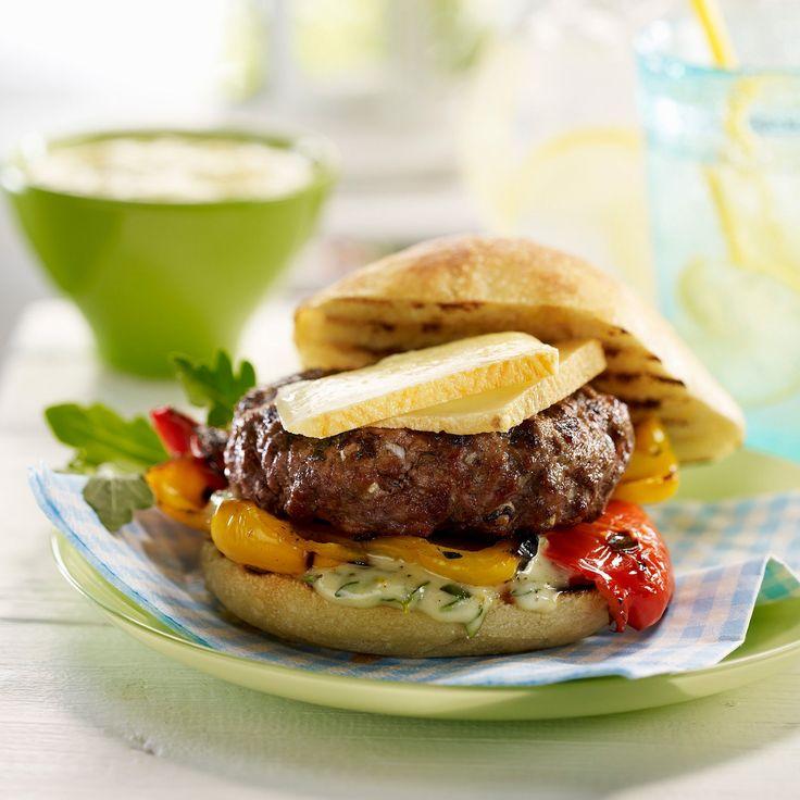 Découvrez la recette du hamburger façon raclette