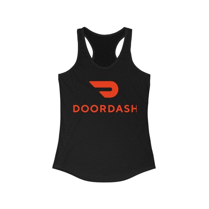 Doordash womens ideal racerback tank etsy athletic