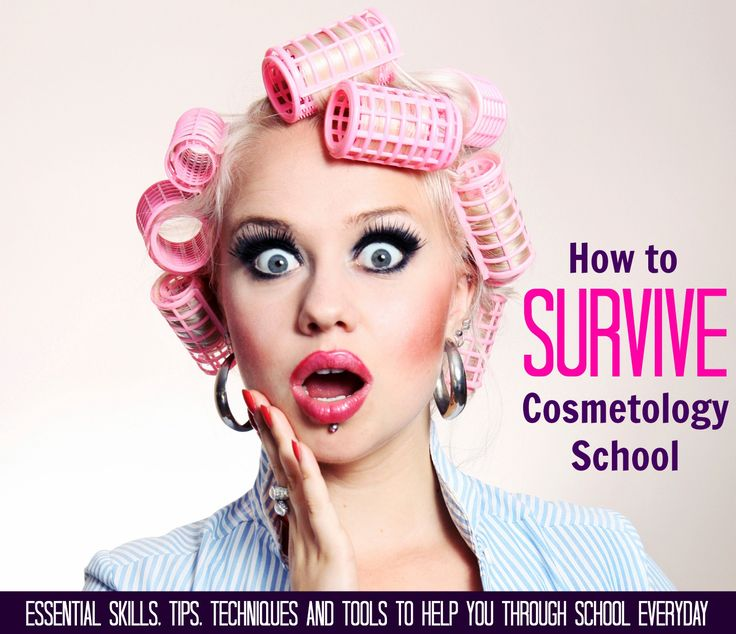 """Are you in school to become an Hair Stylist or Esthetician? I've created the """"How to Survive Cosmetology School"""" guide to help you survive school, and keep you on track so that you graduate and start working in this wonderful field.    http://jackiebernardi.com/the-cosmetology-school-survival-guide/ I love being an esthetician, but there were things about cosmetology school that surprised me--I go over them in this free guide.  #SkinCareTherapist #BeautyTherapist"""