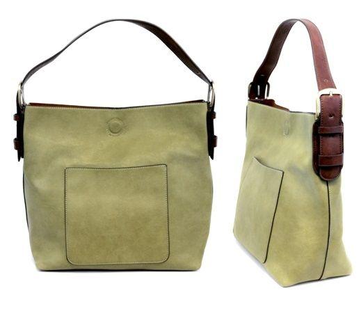 Joy Susan L8008 03 Hobo Bag In Guilford Green With Brown Handle My Absolute Favorite Handbag