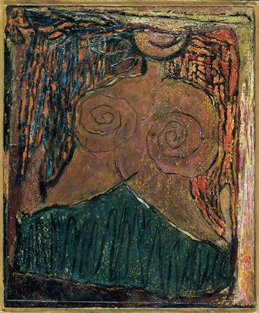 Ilka Gedő, 'Self Portrait Flower', 1971