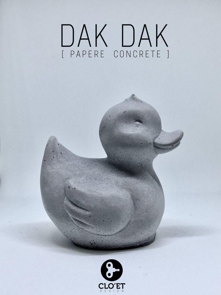 Un preferito personale dal mio negozio Etsy https://www.etsy.com/it/listing/553546200/dak-dak-papere-concrete-by-cloet-design