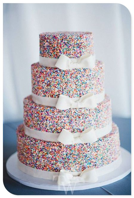 Wedding cakes.... This is absolutely cute!!! And can be for any occasion