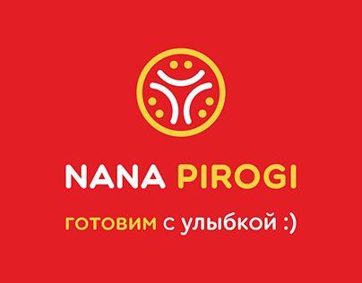 "@Behance portfolio: ""NANA PIROGI logo"" http://be.net/gallery/56354137/NANA-PIROGI-logo"