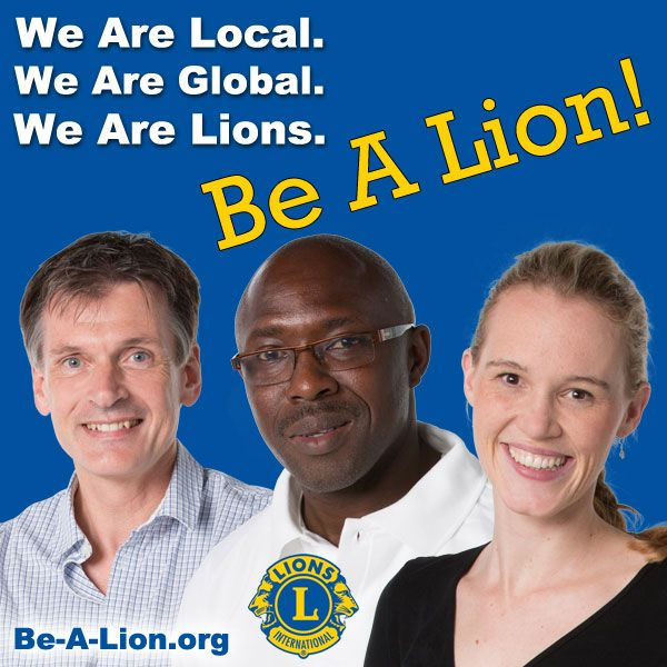 Lions members can use this image for Lions promotional and marketing materials. be-a-lion.org