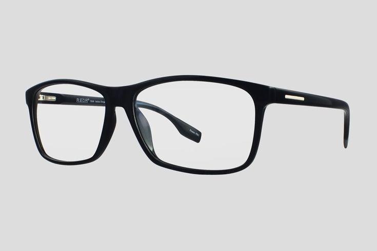 #Brillen van Reor. Dit is de Tokyo (art. nr. F10.627UBL), complete bril vanaf € 34,90. #Montuur van zwart TR-90. Ook verkrijgbaar in het zwart.