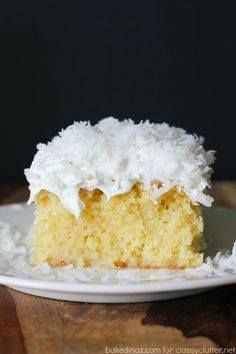 Pineapple and coconu Pineapple and coconut poke cake that is...  Pineapple and coconu Pineapple and coconut poke cake that is just fabulous! Click for the recipe Recipe : http://ift.tt/1hGiZgA And @ItsNutella  http://ift.tt/2v8iUYW