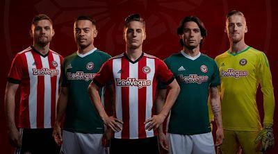El nuevo Primera Equipacion Camiseta Brentford FC baratas 2017-2018 es una actualización del aspecto clásico del club con rayas rojas y blancas sobre una base roja limpia.