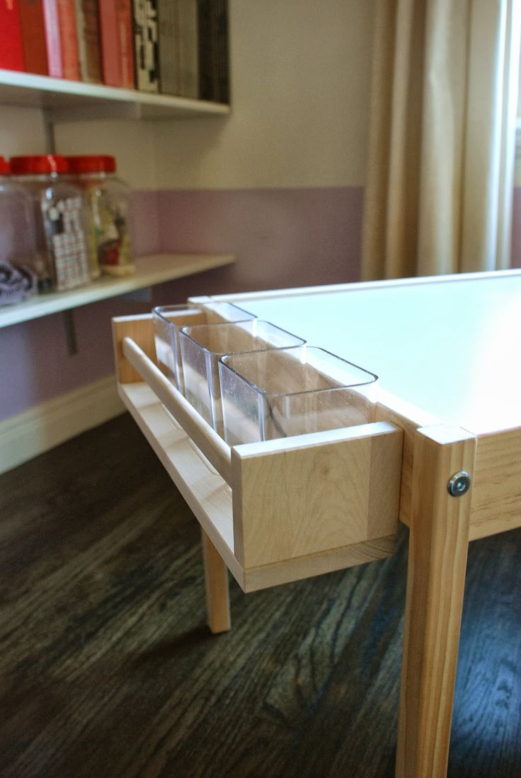 Craft desk for kids - Design Ingenuity Diy Kids Craft Table