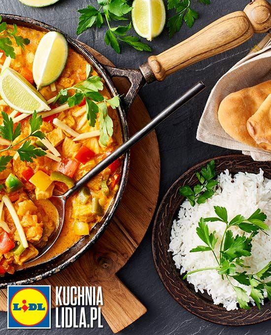 Indyjski łosoś w sosie słodko-kwaśnym. Kuchnia Lidla - Lidl Polska. #amandeep #indie #losos