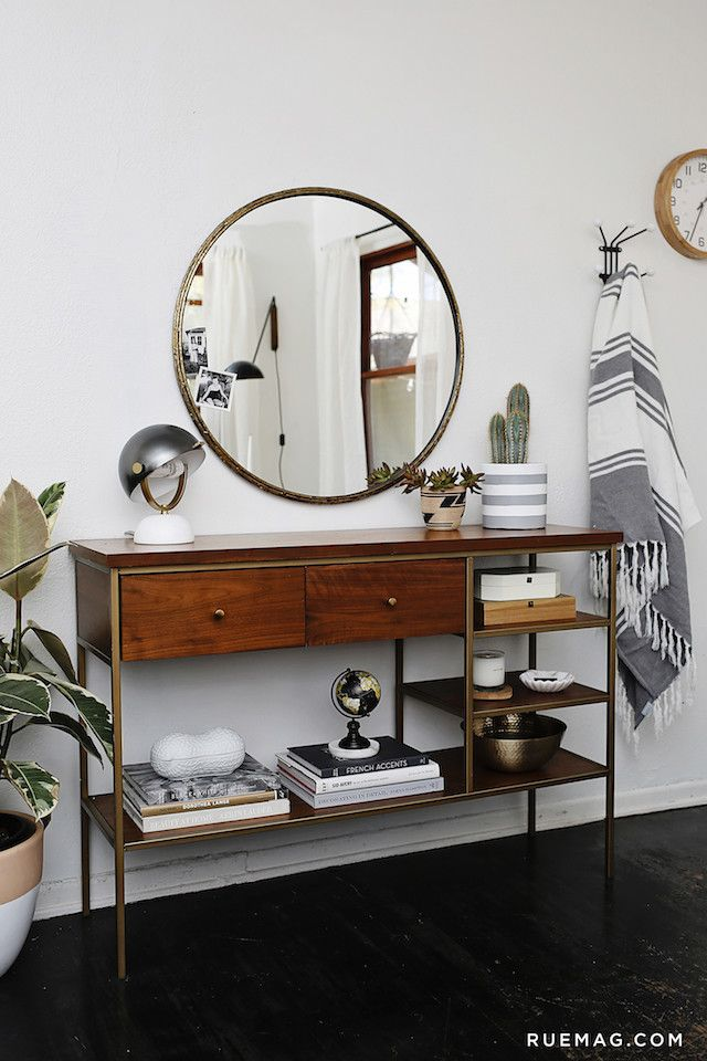 aesthetic entryway table decor ideas i d cor mag interior design rh pinterest com