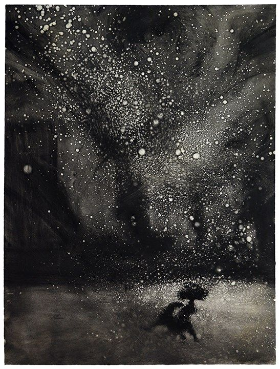 RA Summer Exhibition 2016 work 629: TEMPEST IN THE SQUARE IV by Bill Jacklin RA, . #RASummer
