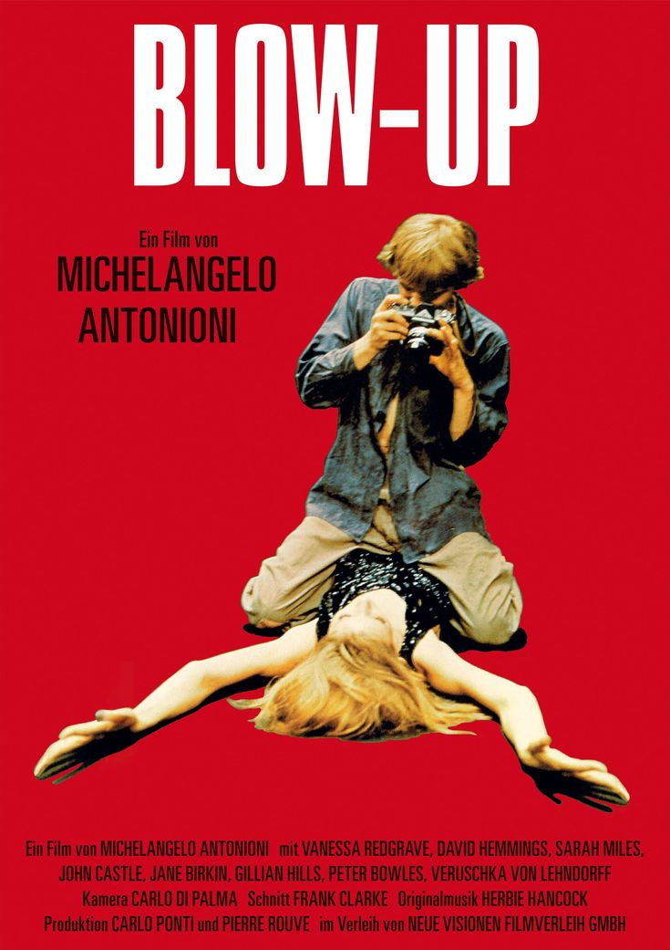 One of my favorite films of all time:  Blow Up (1966)